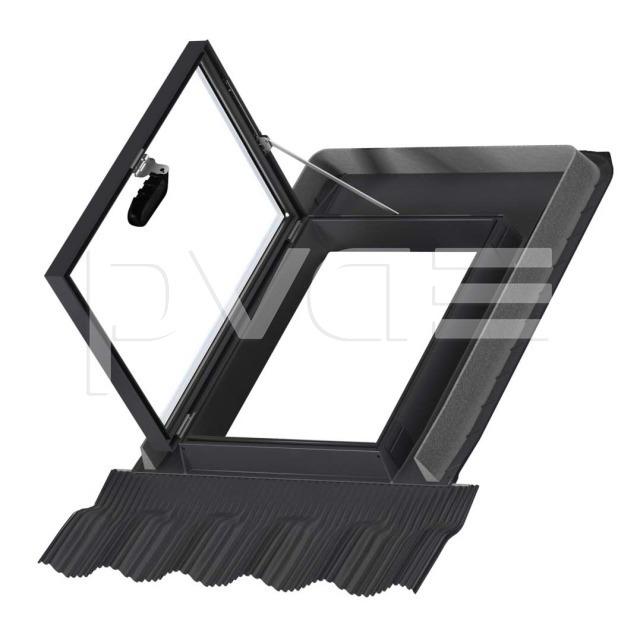 velux handwerker ausstiegsfenster polyurethan schwarz gvt 103 0059 pva ag. Black Bedroom Furniture Sets. Home Design Ideas