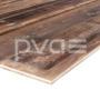 Altholz-Rohling Fichte/Tanne mit original sonnenverbrannter Oberfläche braun