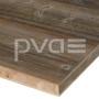 Altholz-Rohling Fichte/Tanne mit original sonnenverbrannter Oberfläche grau
